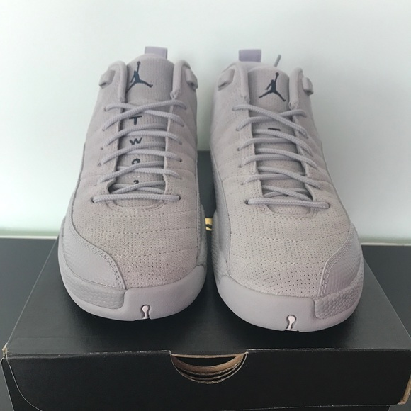 580cbd403d7 Air Jordan Retro 12 Low Wolf Grey
